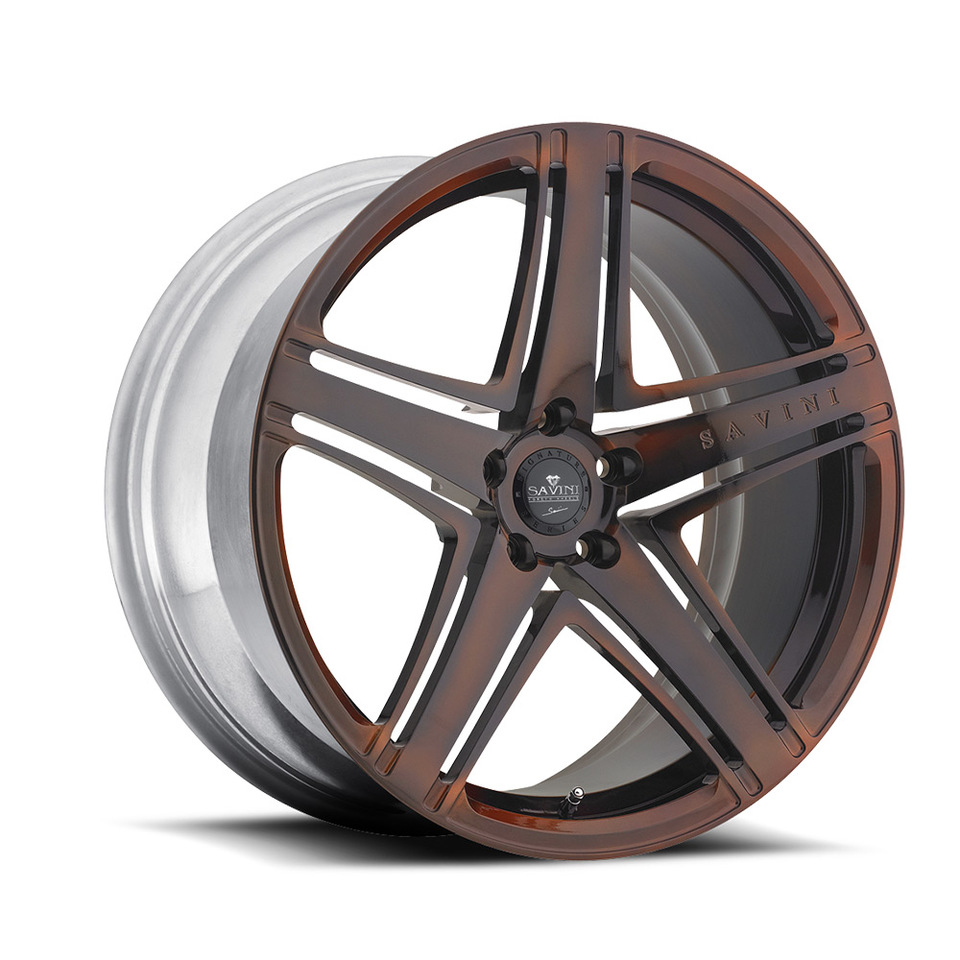 Savini Forged SV8m Bronze Mono Wheels