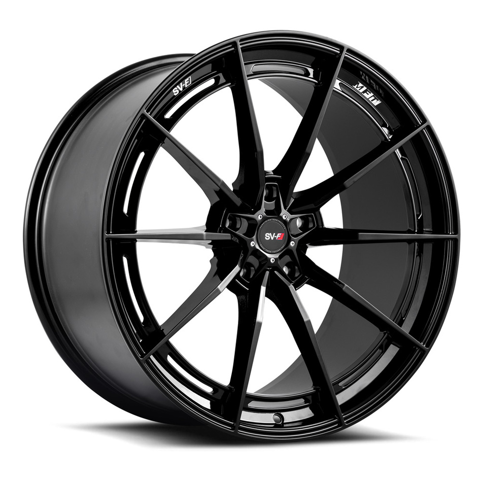 Savini SV-F 1 Wheels Gloss Black Finish