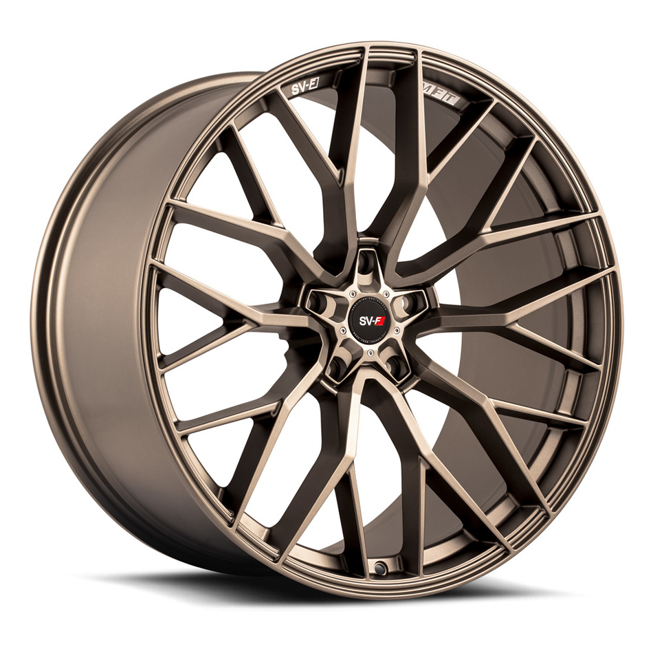 Savini SV-F 2 Wheels Matte Bronze Finish