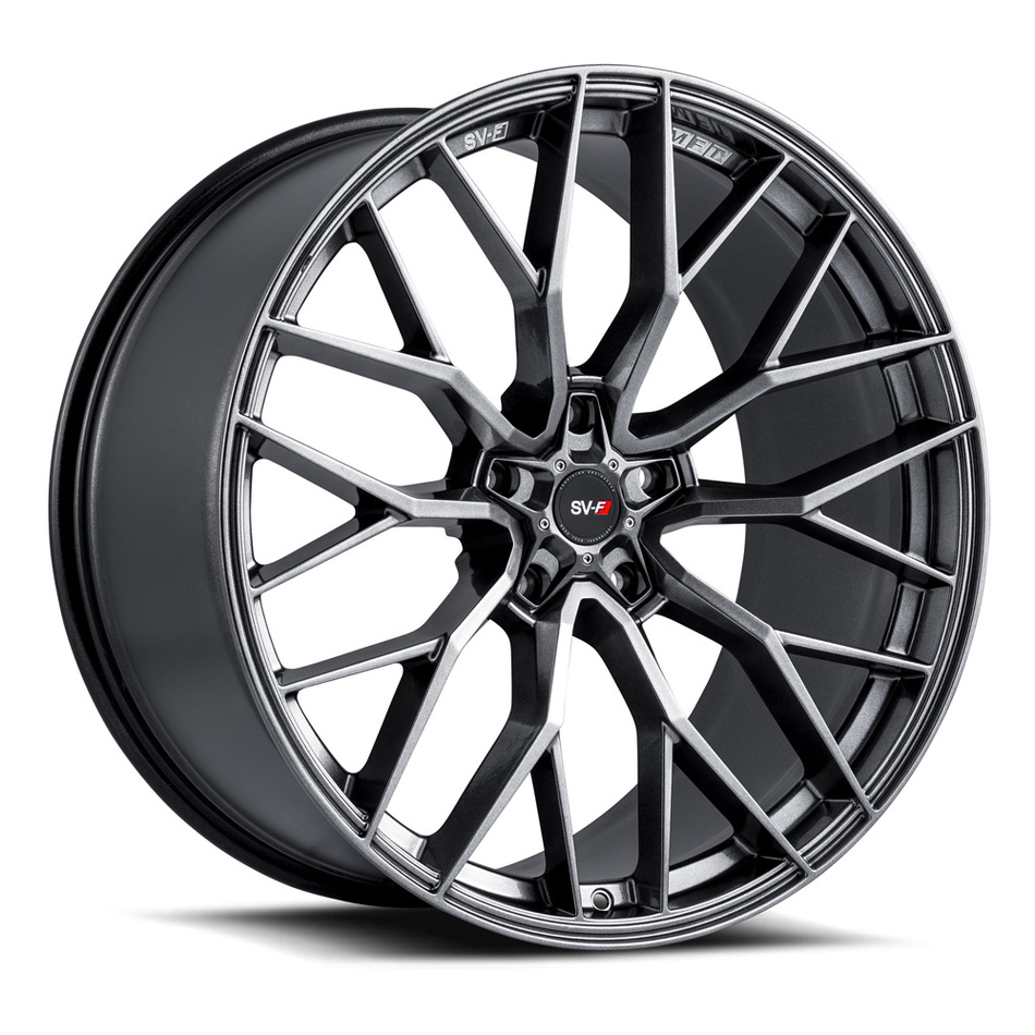 Savini SV-F 2 Wheels Gloss Graphite Finish
