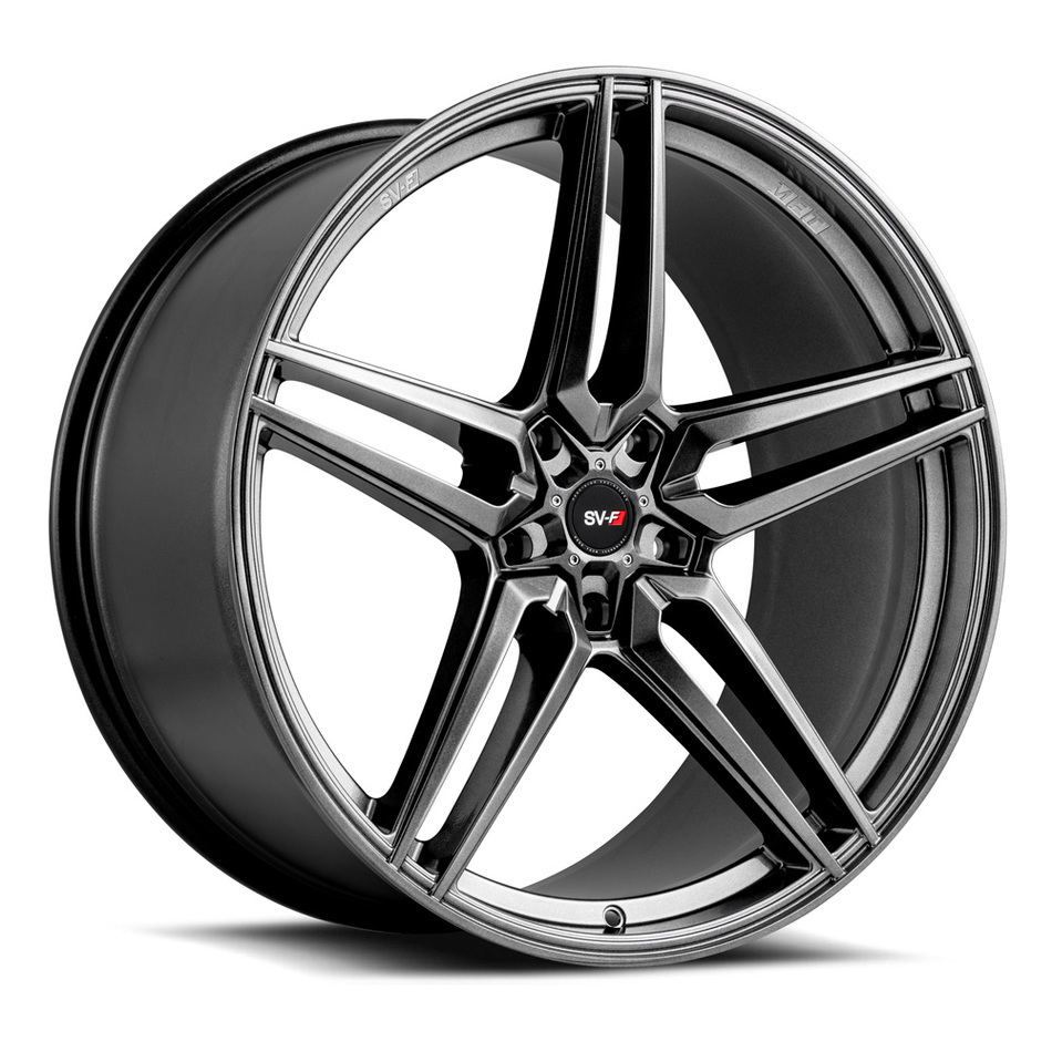 Savini SV-F3 Wheels Gloss Graphite Finish