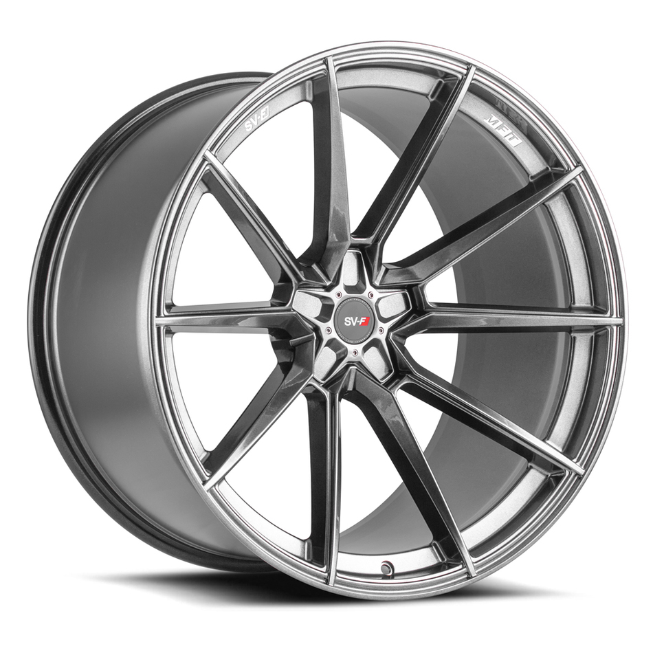 Savini SV-F 4 Wheels Gloss Graphite Finish