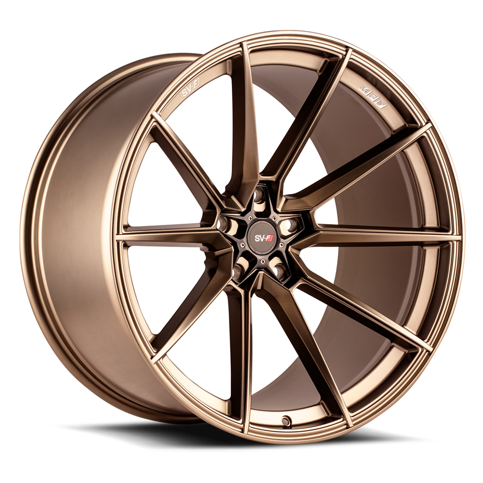 Savini SV-F 4 Wheels Matte Bronze Finish