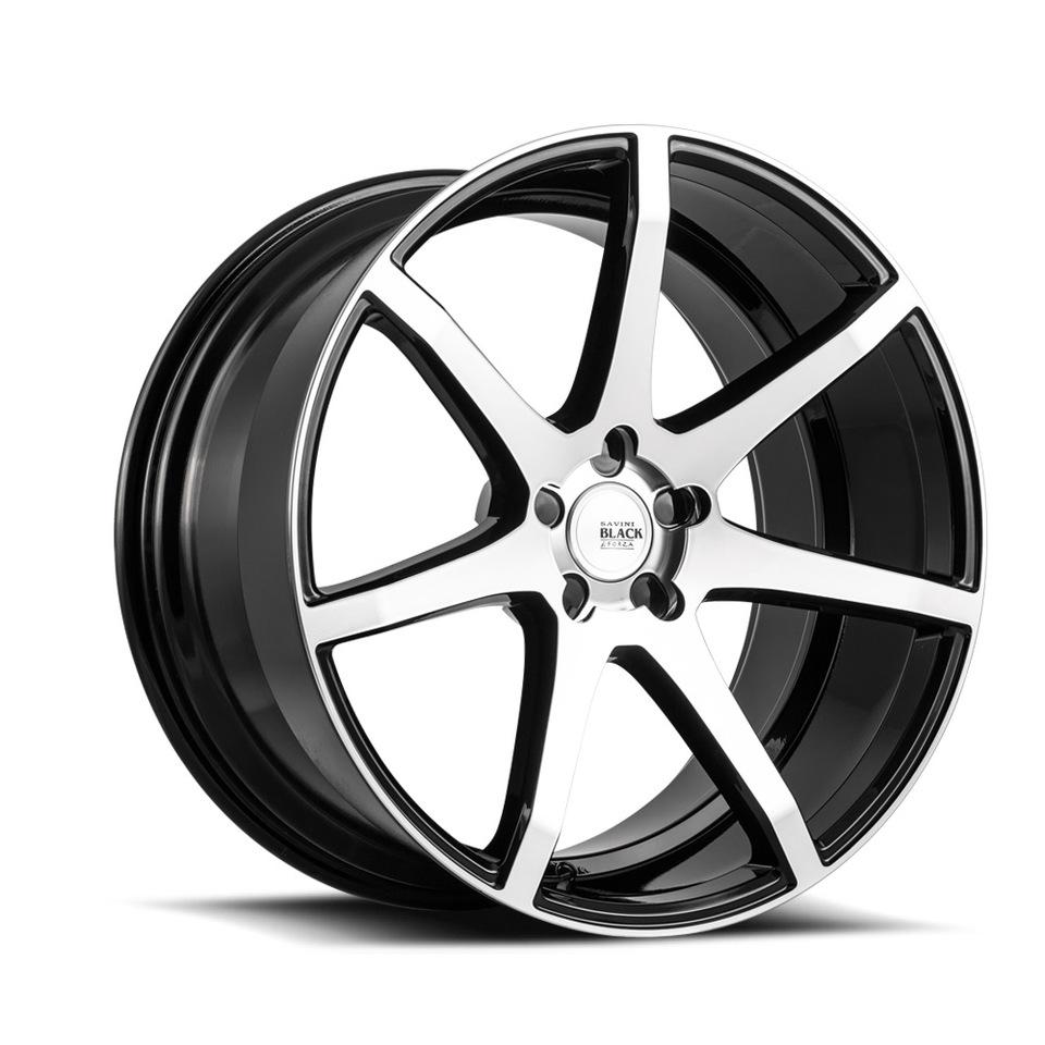 Wheel Alignment Machine >> Savini Black di Forza BM10 Wheels at Butler Tires and ...