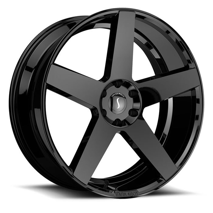 Status Empire Gloss Black Finish Wheels
