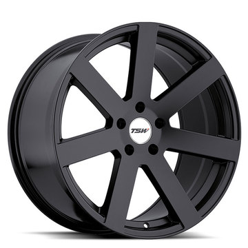 TSW Bardo Matte Black Wheels