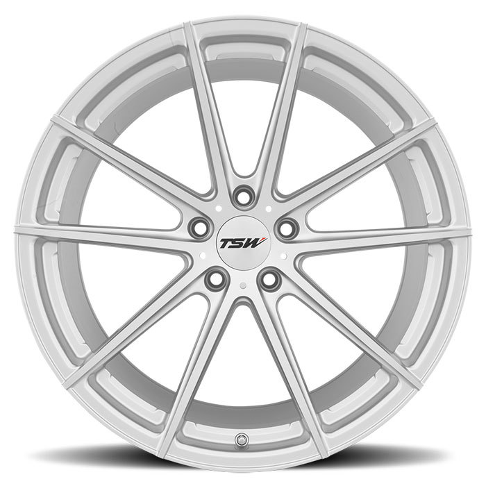 TSW Bathurst Wheels - Silver with Mirror Cut Face Finish