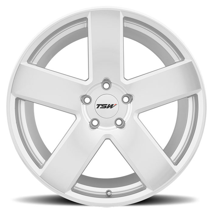 TSW Bristol Wheels - Silver with Mirror Cut Face Finish