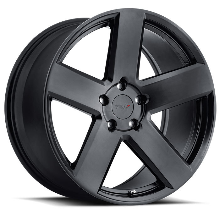 TSW Bristol Wheels - Gloss Gunmetal Finish
