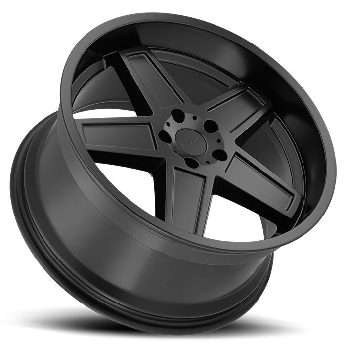 TSW Camber Matte Black Finish Wheels