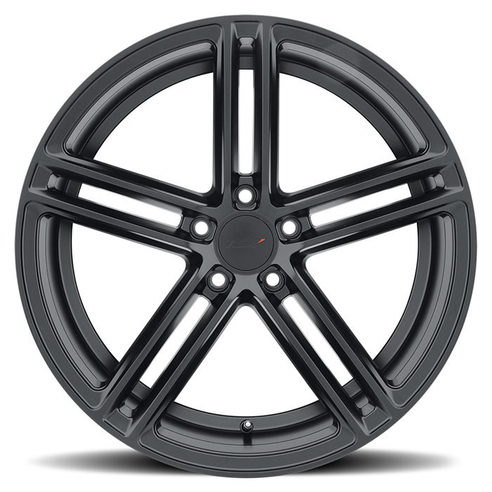 TSW Chapelle Matte Black Finish Wheels