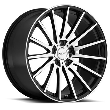 TSW Chicane Wheels - Gloss Black with Mirror Face Finish