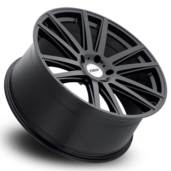 TSW Gatsby Matte Black Wheels