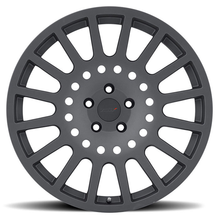 TSW Holeshot Matte Gunmetal Finish Wheels
