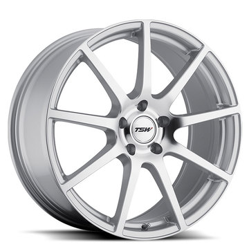 TSW Interlagos Silver with Mirror Cut Face Wheels - Standard