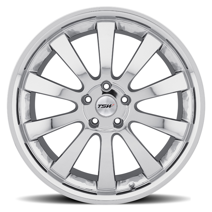 TSW Londrina Chrome Wheels - Face