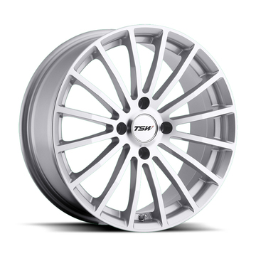 TSW Mallory 4 Silver with Mirror Cut Face Wheels - Standard