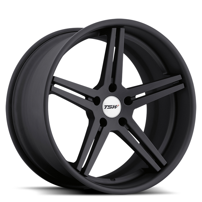 TSW Mirabeau Full Matte Black Wheels