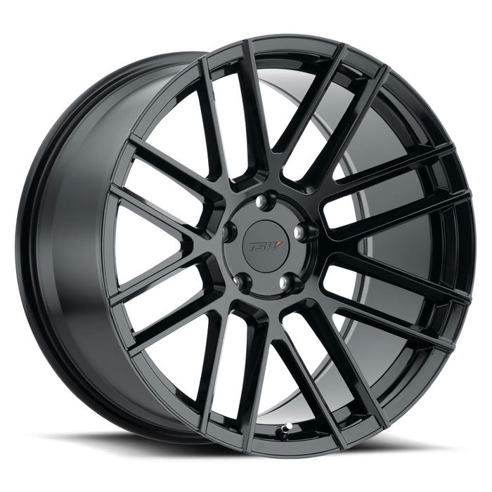 TSW Mosport Gloss Black Finish Wheels