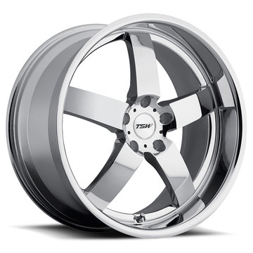 TSW Rockingham Chrome Wheels - Standard