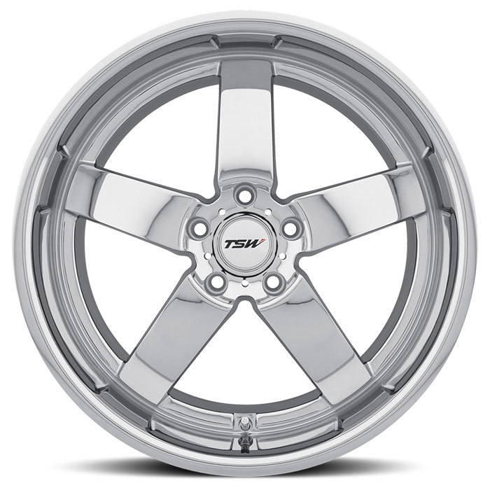 TSW Rockingham Chrome Wheels - Face