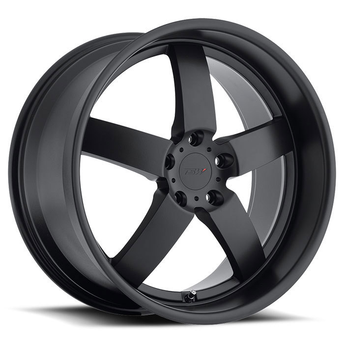 TSW Rockingham Matte Black Wheels - Standard