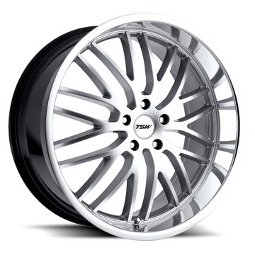 TSW Snetterton Hyper Silver with Mirror Cut Lip Wheels - Standard