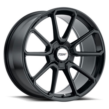 TSW Sonoma Gloss Black Finish Wheels