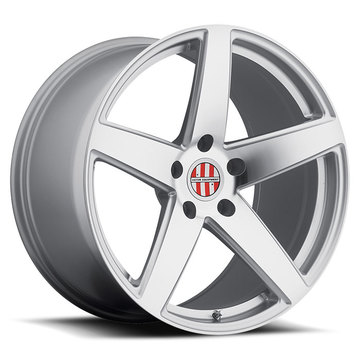 Victor Equipment Baden Silver with Mirror Cut Face Porsche Wheels - Standard