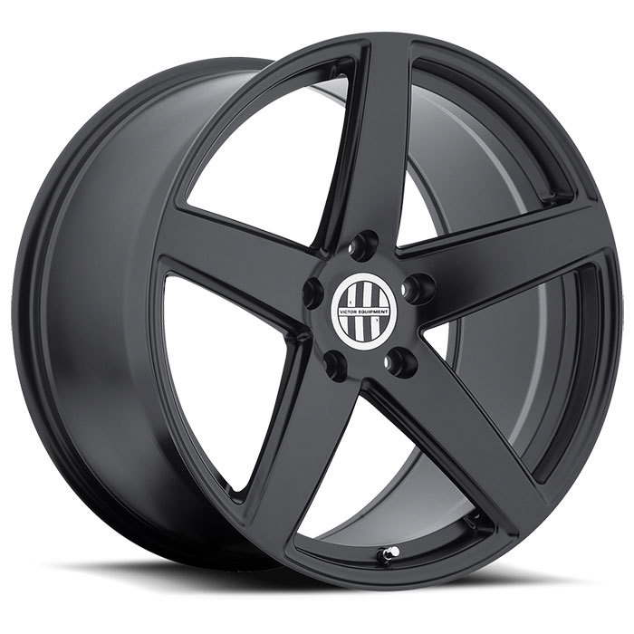 Victor Equipment Baden Matte Black Porsche Wheels - Standard