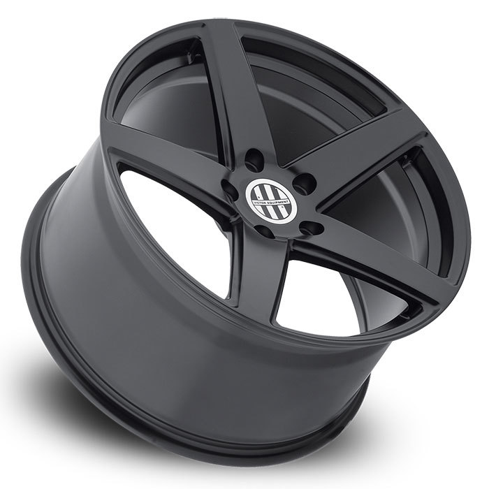 Victor Equipment Baden Matte Black Porsche Wheels - Lay