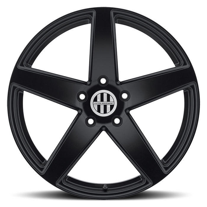 Victor Equipment Baden Matte Black Porsche Wheels - Face