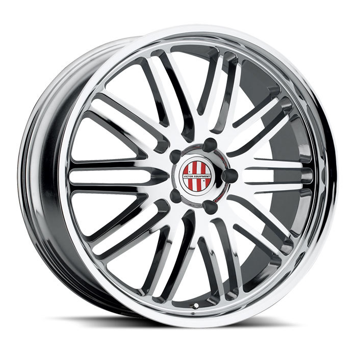 Victor Equipment Lemans Chrome Porsche Wheels - Standard