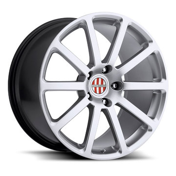 Victor Equipment Zehn Hyper Silver Porsche Wheels - Standard