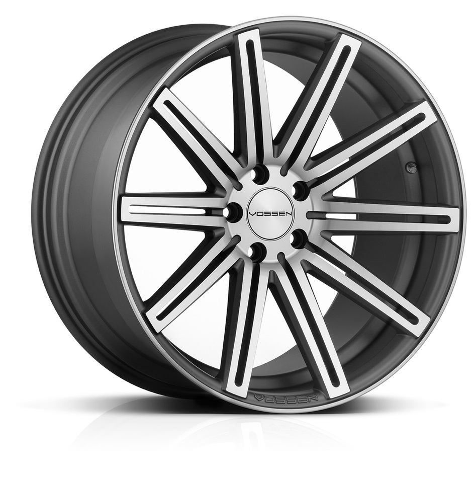 Vossen CV4 Matte Graphite Machined Finish Wheels