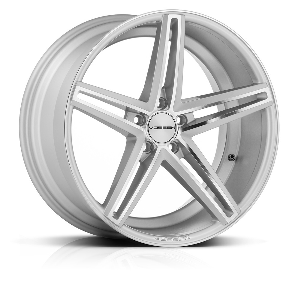 Vossen CV5 Silver Polished Finish Wheels