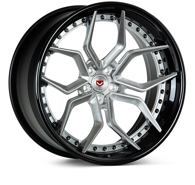 Vossen EVO-4 3-Piece Wheels Custom Satin Black Finish