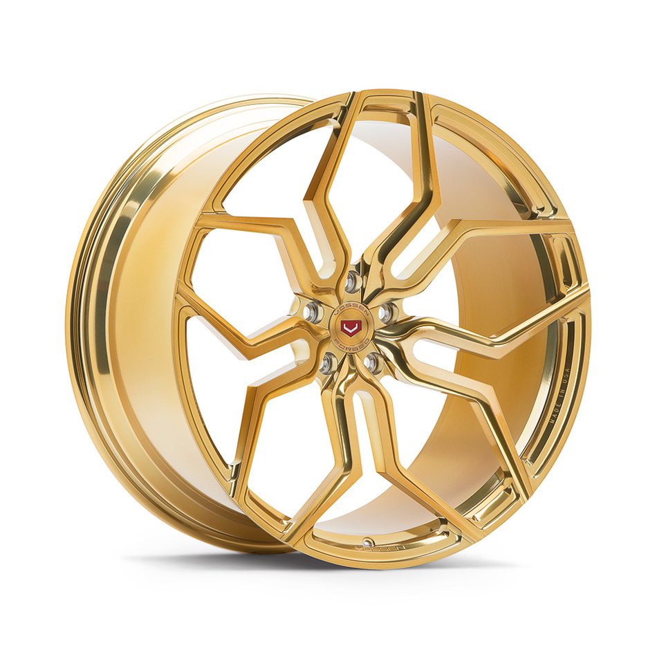 Vossen HC-3 Imperial Gold Finish Wheels