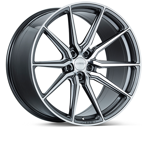 Vossen HF3 Wheels Gloss Graphite Polished Finish