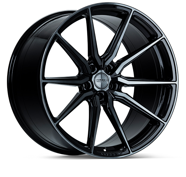 Vossen HF3 Wheels Double Tinted Gloss Black Finish