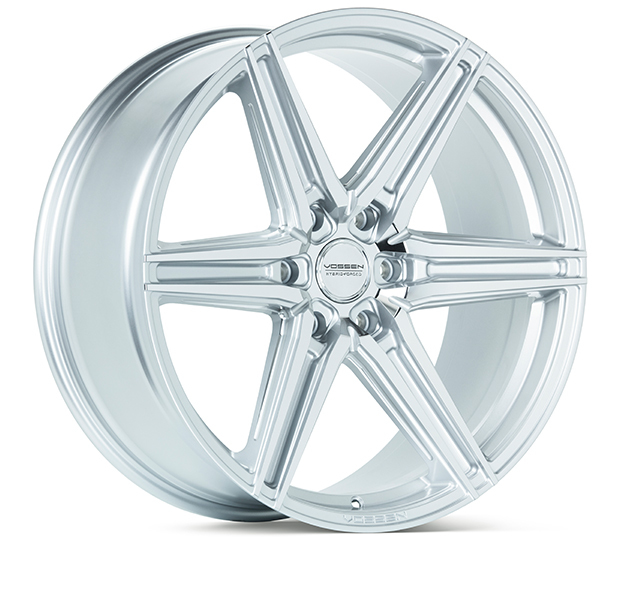 Vossen HF6-2 Wheels Silver Polished Finish