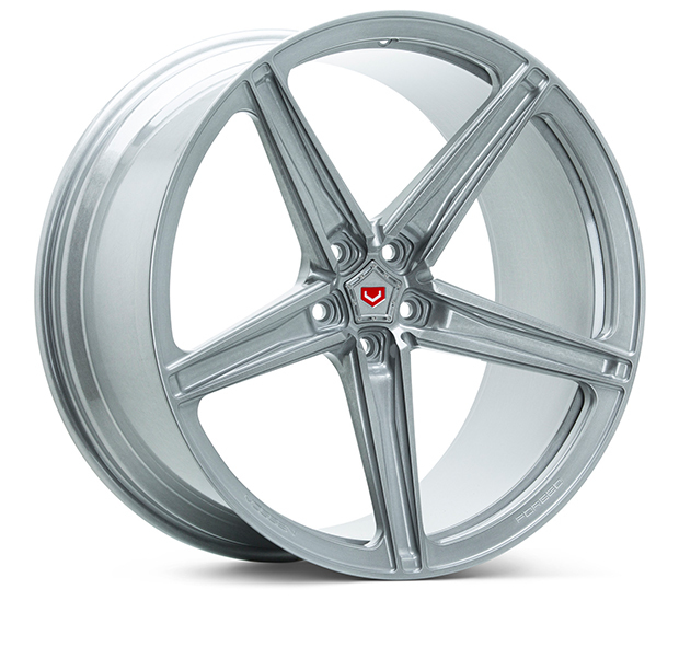Vossen M-X5 Wheels Custom Marbled Dark Smoke Finish