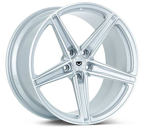Vossen M-X5 Wheels Custom Satin Silver Finish