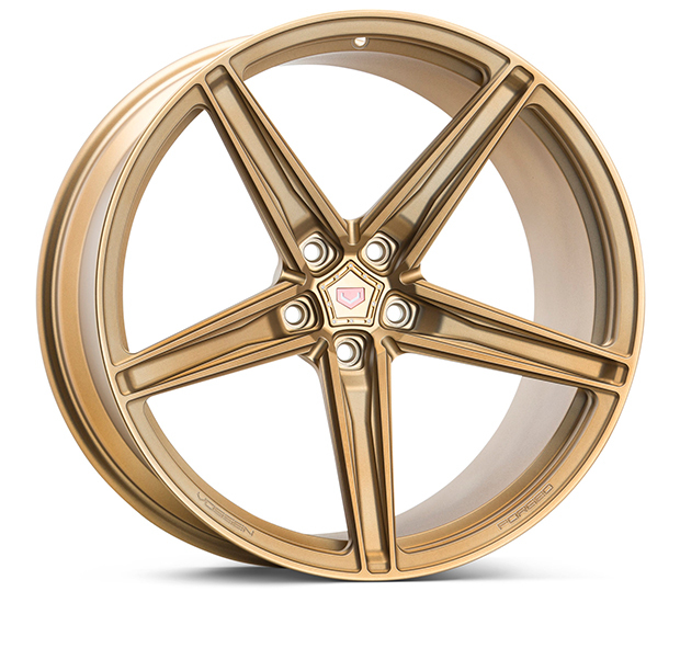 Vossen M-X5 Wheels Custom Matte Brickell Bronze Finish