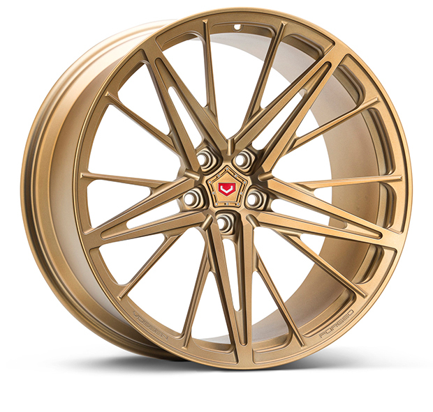 Vossen M-X6 Wheels Custom Matte Brickell Bronze Finish