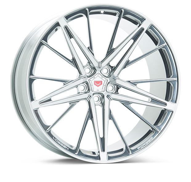 Vossen M-X6 Wheels Custom Gloss Clear Finish