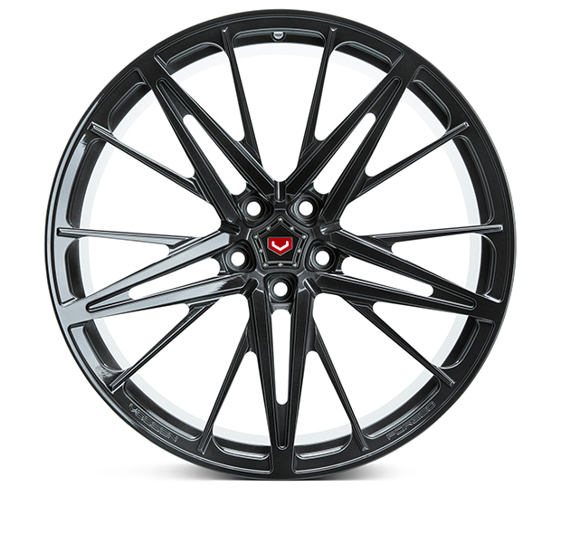 Vossen M-X6 Wheels Custom Midnight Smoke Finish