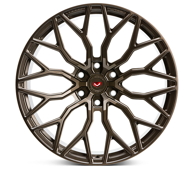 Vossen S17-02 Wheels Custom Satin Bronze Finish