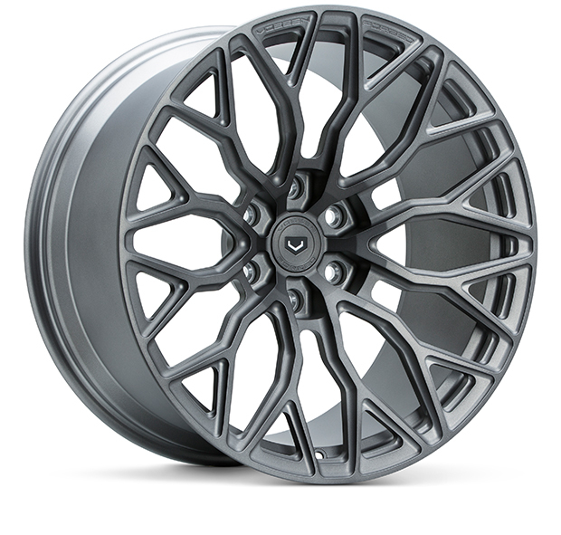Vossen S17-02 Wheels Custom Stealth Grey Finish