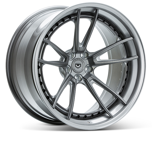 Vossen S17-06 3-Piece Wheels Custom Gloss Charcoal Finish